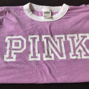 PINK t-shirt purple, XS